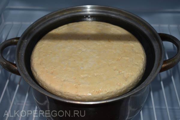 Сыр качотта - домашний рецепт в виной корочке