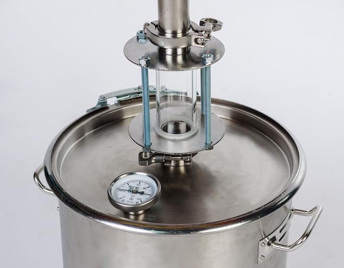 Диоптр для самогонного аппарата: предназначение, правила выбора, конструкция
