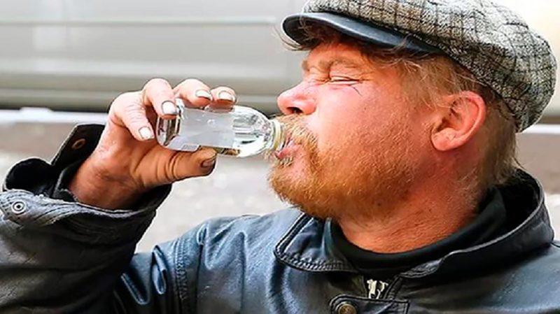Изменение лица от алкоголя или как выглядит пьющий человек